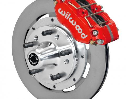 Wilwood Brakes Dynapro Dust-Boot Big Brake Front Brake Kit (Hub) 140-15406-R