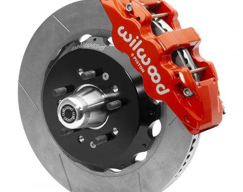 Wilwood Brakes AERO6 Big Brake Front Brake Kit 140-15558-R