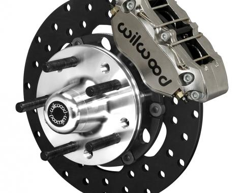 Wilwood Brakes Dynapro Lug Mount Front Dynamic Drag Brake Kit 140-14419-DN