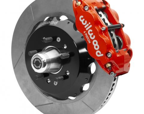Wilwood Brakes Forged Narrow Superlite 6R Big Brake Front Brake Kit (Hub) 140-15554-R