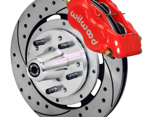 Wilwood Brakes Forged Dynalite Big Brake Front Brake Kit (Hub) 140-11812-DR