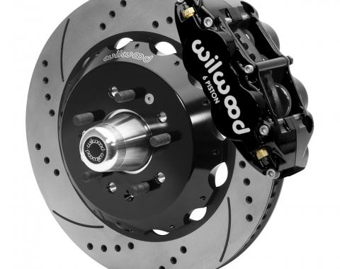 Wilwood Brakes Forged Narrow Superlite 6R Big Brake Front Brake Kit (Hub) 140-15554-D