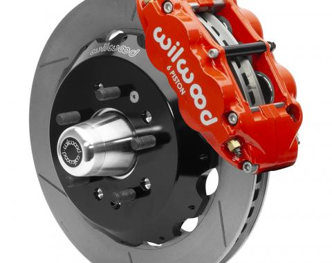 Wilwood Brakes Forged Narrow Superlite 6R Big Brake Front Brake Kit (Hub) 140-15552-R