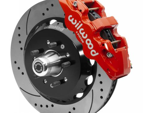 Wilwood Brakes AERO6 Big Brake Front Brake Kit 140-15558-DR