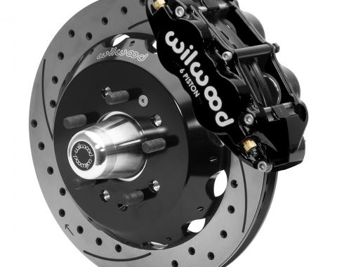 Wilwood Brakes Forged Narrow Superlite 6R Big Brake Front Brake Kit (Hub) 140-15552-D