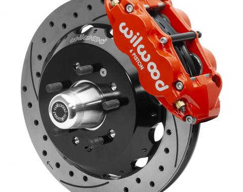 Wilwood Brakes Forged Narrow Superlite 6R Big Brake Front Brake Kit (Hub) 140-15552-DR