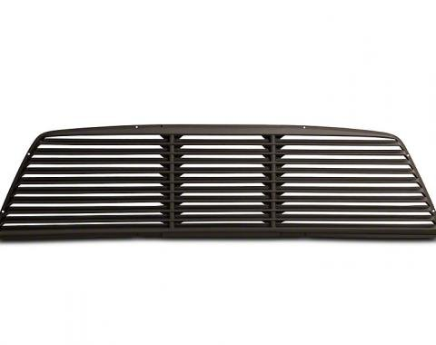 F-150 Rear Window Louver, Low Profile Design, Textured Surface ABS, 2004-2014