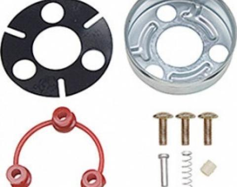 Horn Cap Contact & Mounting Parts Kit, Steering Wheel, 1967-1979