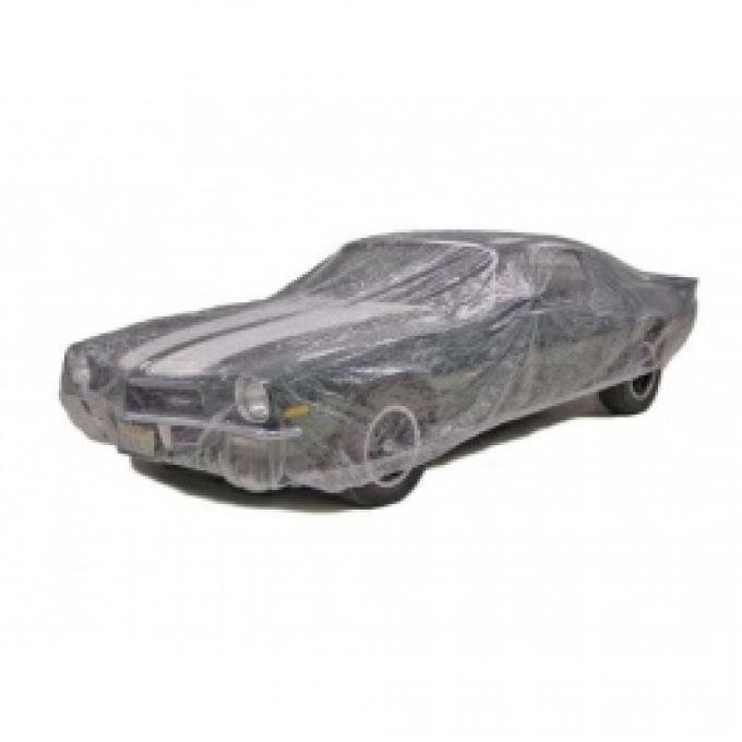 Car Cover, Disposable Clear, Medium, 5 Pack