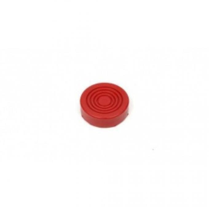 Hydraulic Floor Jack Pad, 3 Diameter, Polyurethane, Prothane