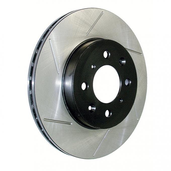 Stop Tech / Power Slot 126.66043SR, Brake Rotor, SportStop (R) Slotted, Silver E-Coated, Alloy, Single