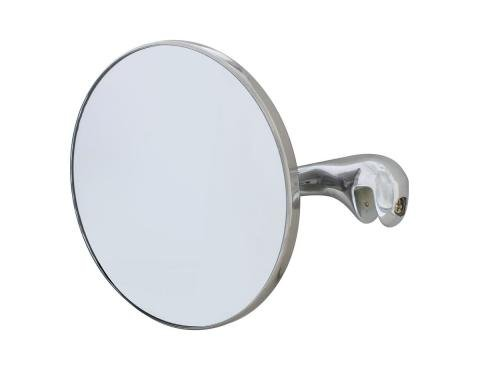 United Pacific Side Peep Mirror For 1937 Chevy Passenger Car - L/H C4031