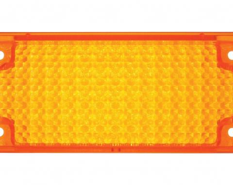 United Pacific Park Light Lens, Amber For 1971-72 Chevy Truck C717221