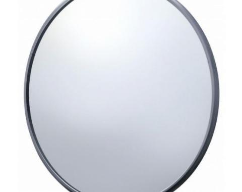 "United Pacific Chrome 5"" Ribbed Mirror Head C476901"