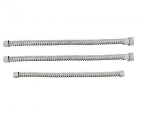 United Pacific Stainless Steel Conduit Set For 1928-31 Ford Model A (3/Set) A4051