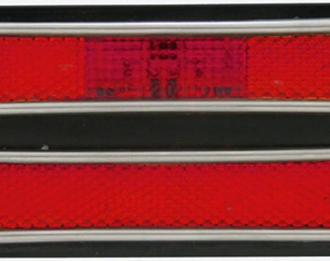 United Pacific 18 LED Side Marker Light, Red Lens, Rear For 1968-72 Chevy Truck CML6872R