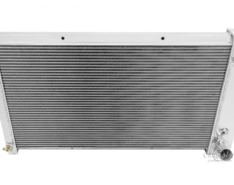 Champion Cooling 2 Row All Aluminum Radiator Made With Aircraft Grade Aluminum EC369