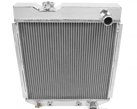 Champion Cooling 2 Row All Aluminum Radiator Made With Aircraft Grade Aluminum EC259