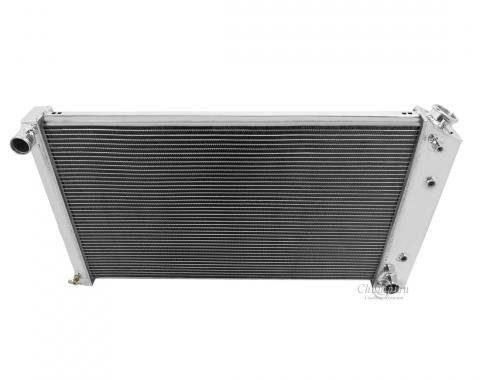 Champion Cooling 3 Row All Aluminum Radiator Made With Aircraft Grade Aluminum CC161