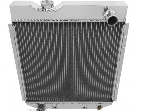 Champion Cooling 2 Row All Aluminum Radiator Made With Aircraft Grade Aluminum EC251