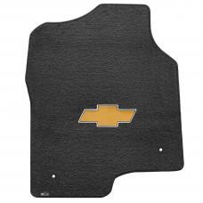 Lloyd Mats Silverado Extd Cab 1999-2007 2 Piece Front Ebony Velourtex Gold Bowtie Logo 620047
