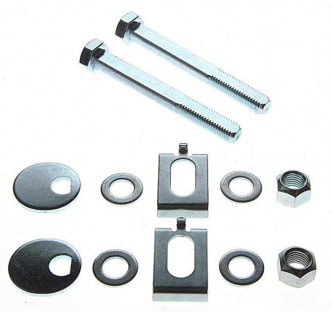 Moog Chassis K80087, Alignment Cam Bolt Kit, OE Replacement, Adjustment Range From -2 To 2 Degrees, With 2 Cams/ Bolts/ Guides/ Hardware