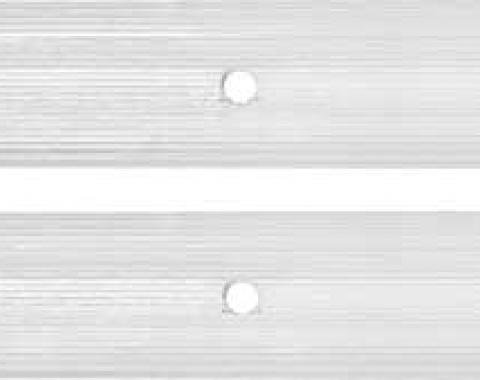 Chevy Truck Chain Cover, Step Side, Clear, 1973-1987