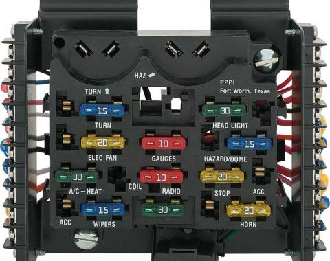 Painless 14 Circuit Universal ATO Fuse Block Assembly 30001
