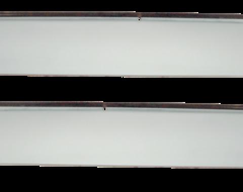Key Parts '73-'87 Front Window Vent Shade Kit 0850-590