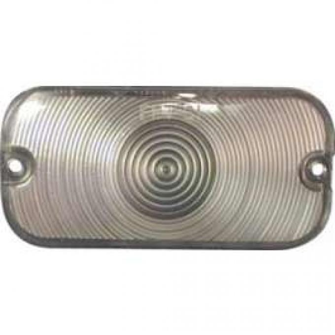Parking Light Lens - Plastic - Clear
