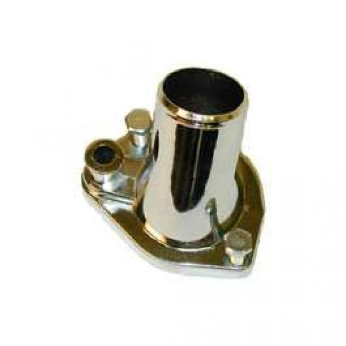 Thermostat Housing - Chrome