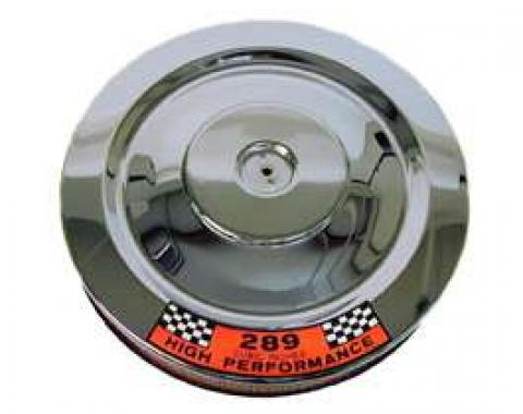 Air Cleaner Assembly - Round - 14 Diameter - Exact Reproduction