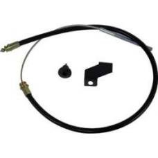 Emergency Brake Cable - Rear - 159-7/16 Long