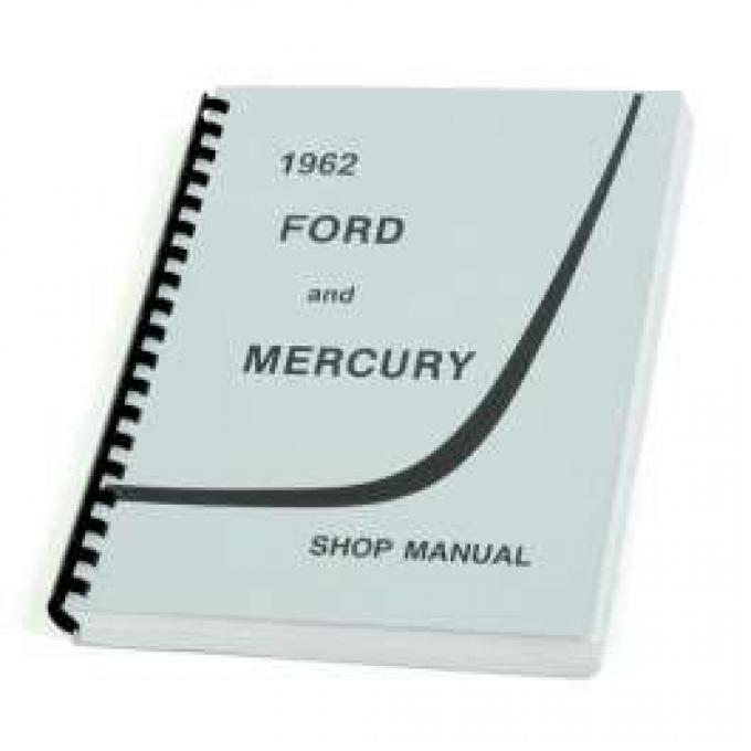 Ford Galaxie Shop Manual - 524 Pages