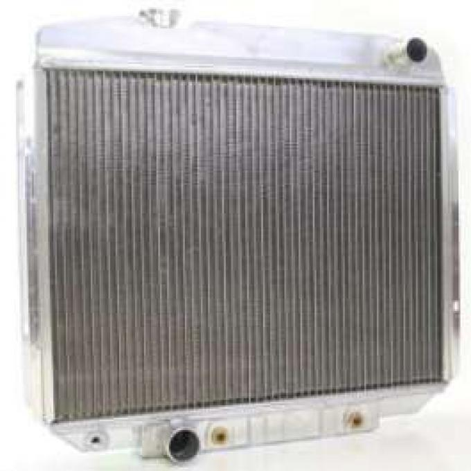 1964 FULL SIZE FORD GRIFFIN ALUMINUM RADIATOR, V8 WITH AUTOMATIC TRANSMISSION