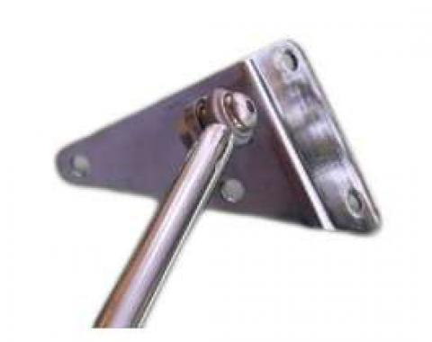 Monte Carlo Bar, Adjustable, Polished Stainless Steel, Falcon, Ranchero, Comet, 1960-1965