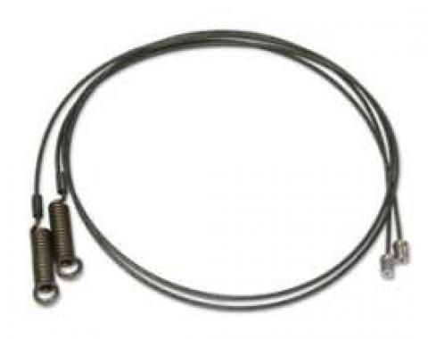 Convertible Top Side Tension Cables