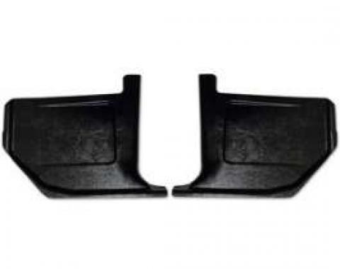 Kick Panel - Black Injection Molded ABS Plastic
