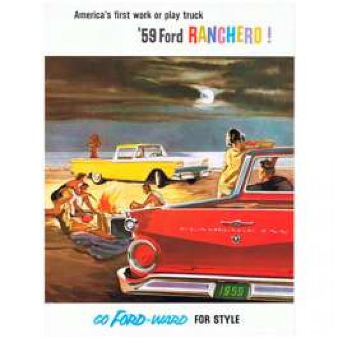 Ford Ranchero Color Sales Brochure