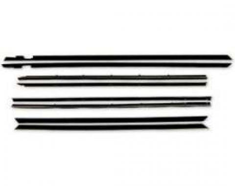 Belt Weatherstrip Kit - Doors and Rear Quarter Windows - 8 Pieces
