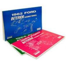 Ford Interior Trim Assembly Manual - 103 Pages