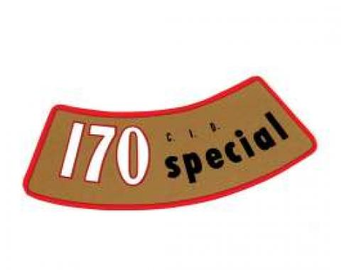 Decal - Air Cleaner - 170 Special