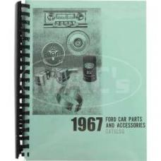 Car Parts And Accessories Manual, Ford, 1967