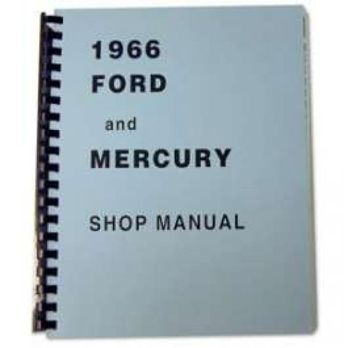 Full-Size Ford and Mercury Shop Manual - 831 Pages