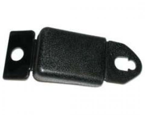 Front Seat Belt Shoulder Strap Boot - Black