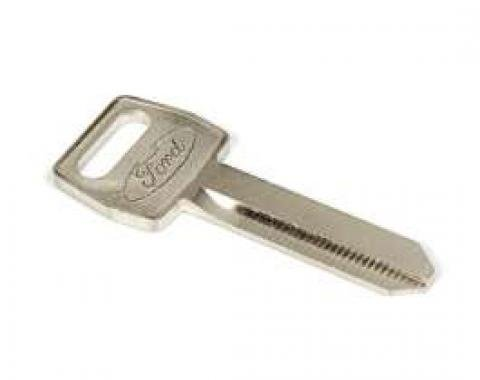 Ignition or Door Key Blank - Double Sided