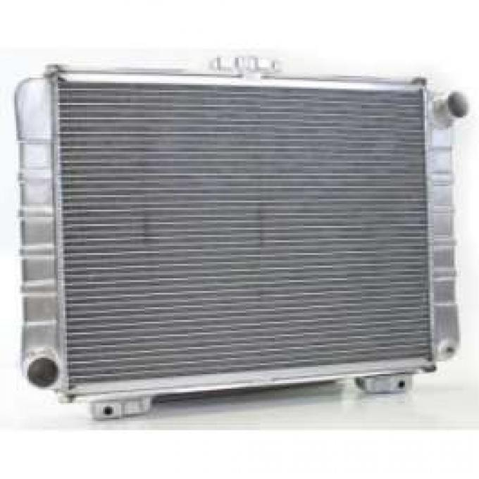 1964 FULL SIZE FORD GRIFFIN ALUMINUM RADIATOR, V8 WITH MANUAL TRANSMISSION