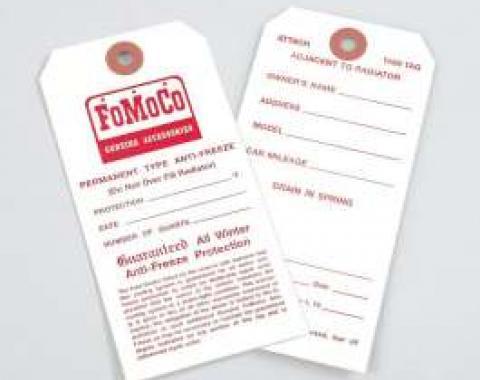 Antifreeze Tag - FoMoCo