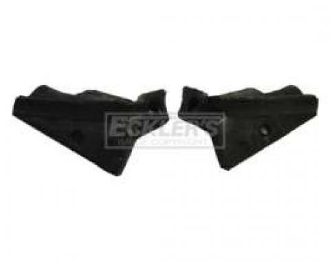 Convertible Top Rear Rail Water Deflector