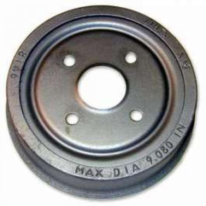 Brake Drum - 9 Diameter - 4 Lug Wheel